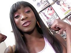 Ebony sex cartoon narutoxxx sucks and fucks at a gloryhole