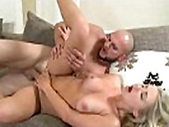 Blonde babe gets an extreme ass fucking and a nasty facial 13