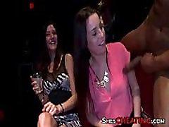 Male-Strippers seriedan love Big-Cock Takes Group Blowjob