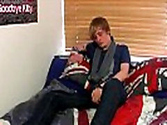 Gay male solo piss drinking Brent Daley is a uber-cute blondie emo
