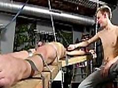 Gay men anal porn Dean gets tickled, super-fucking-hot paraffin wax