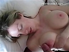 Big Boobed Amateur hot porn elmas playing with Cock and Receives Cumshot on Realwives69.com