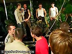Gay male spanking porn Damon Archer and Jimmy Roman Poolside Wet Fuck