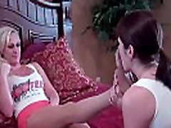 Rachel asks Leyla to pamper her aching feet