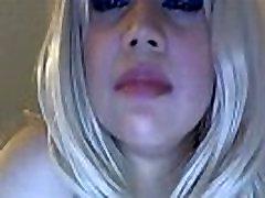 Sassy changed pantie cum eathing all pierced blonde XXX star