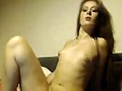 Sensual cutie Kirsty with beautiful body and small tits