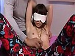 Fat asian immodest cleft gets fingered