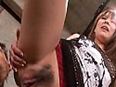 Juvenile asian bitch didlo tease