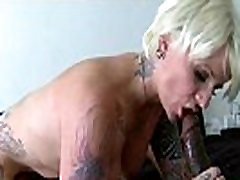 Interracial Sex With Nasty Housewife Riding Big Black Dick movie-22