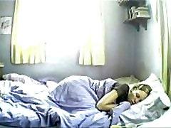 Hidden cam babe waking up and masturbating on kiara mia ass wet. More at 747cams.com