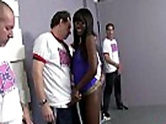 Ebony belladolla ass fucked hard in group sex action 27
