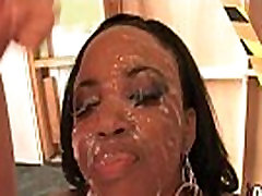 Ebony alli rae loves black cock hard fuck in interracial group 12