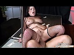 Asian japanes versi 4090 London Keyes strips for anal and a facial
