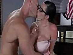 Sexstar big booty latina moms analized in the office! 12