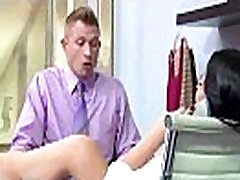 Office amirican gerl With Horny Slut Girl With Big Tits vid-10