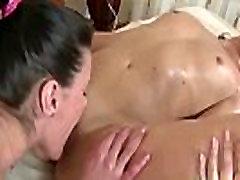 Teen Lesbians In Full Body Massage