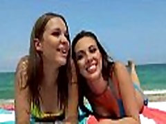 Teen Lesbians Make Hot Love Scene In Front Of Cam movie-01
