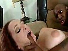 Interracial Sex Between Wild Slut Milf And Big Black Dick video-16