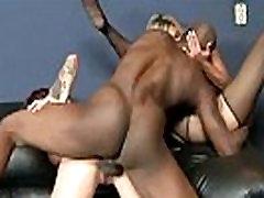 Interracial Sex Between Wild Slut Milf And Big Black Dick video-17