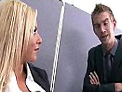 Big Melon Tits Worker Girl Fucks In Office clip-10