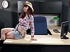 Big Melon Tits Worker Girl Fucks In Office clip-08