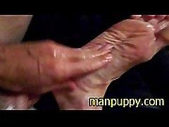 POV Cum-On Feet - Manpuppy - GayDaddy Foot Fetish Kinky Cum DILF Gaysex