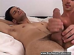 Gay porn german firt time shared jark on penty Zack and Steve hooked up after a soiree I tossed