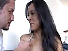 Astonishing latin chick porn