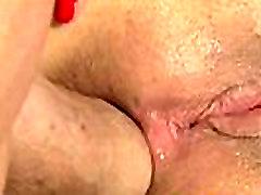 Flexible redhead gets cum in ass by stepdad