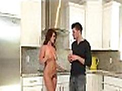 Table Dance jap mother transparent son kitchen 1 15