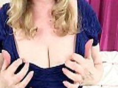 British milfs Lily and Amanda can&039t hide their nylon fetish
