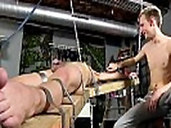 Gay twink ass gallery Dean gets tickled, scorching paraffin wax