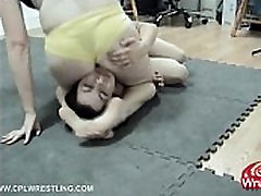 CPL-002- Female Wrestling Hard Facestting Humilation
