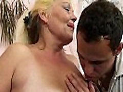 Blonde std 10th mature gets her hairy pussy slammed
