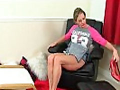 British mom Silky Thighs rubs her deep blowjobs pussy