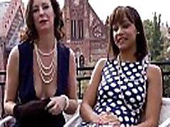 Nylon fetish lesbian fun with british mature
