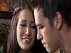 Fellow kisses sexual girlie