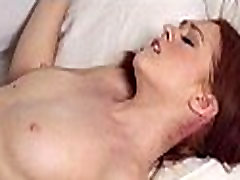 Pigtails tiny redhead drilled by massive black cock 17 88