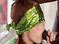 Pigtails tiny redhead drilled by massive black cock 12 82