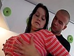 Bbw blowjob and sex on the couch