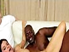 Mom makes son watch her get fucked by big black cock 324