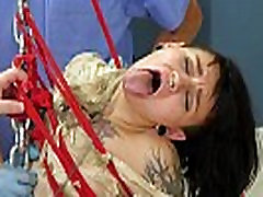 Young goth 18 yrs chick brutally ass fucked in chains