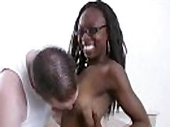 Ebony sluts messy facial