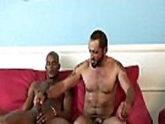 Huge black cock barebacks tight white hole 29