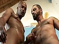 Interracial Bareback Sex - 10 Inch Black Cocks 25