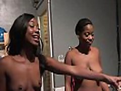 Jenna Ivory Gets Fucked By Her Black bloned damaged Cellmates
