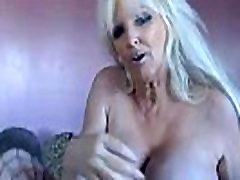 Tia Gunn XXX pornstar celeb with monster implants fucks old pussy