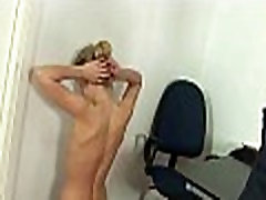 Office babe spanked by her boss