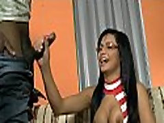 Hot tranny girl gets tempted