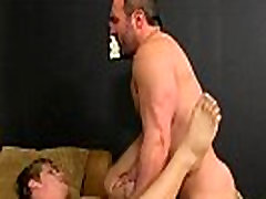 Twink tease to porn When the beefy boy catches Anthony sneaking about in his